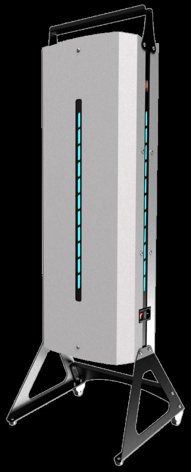 Рециркулятор-очиститель воздуха NEWLED.NEF для помещений 200 куб.м передвижной